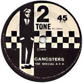 The Gangsters Single Label
